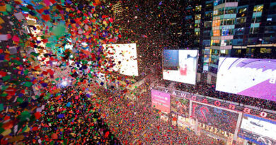 Новый год на Таймс-сквер в этом году станет виртуальным