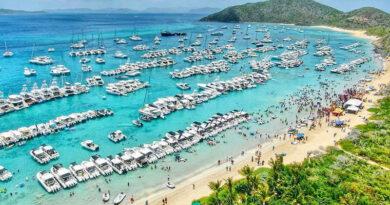 Путешественникам понадобится четыре теста на COVID, чтобы посетить Британские Виргинские острова