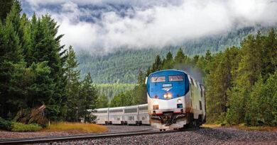 Почему вам следует сесть на поезд до национального парка Глейшер
