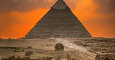 Знакомство с пирамидами Гизы