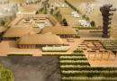 Из новой спиральной башни открывается вид на датский объект всемирного наследия ЮНЕСКО с высоты птичьего полета
